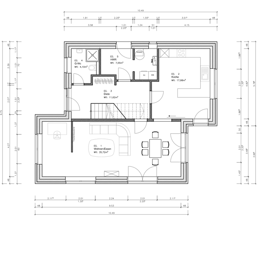 Haus 1 Und Haus 2